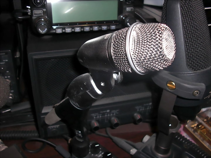 Another VR2XMQ Microphone!
